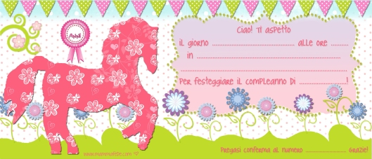 Inviti Compleanno Unicorno Da Stampare Migliori Pagine Da Colorare