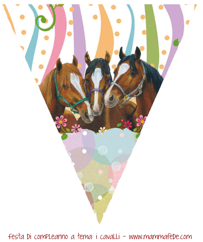 Festa di compleanno a tema 2 i cavalli gli addobbi for Lepre immagini da stampare